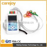 OEM 3-lead Color LCD Holter 24-hours recorder System ecg holter monitor with Software-Cardioscope