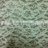 Lace fabric with various designs and colors, N/C