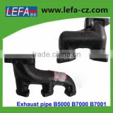 Farm Tractor Parts Iron Exhaust Pipe for kubota Japanese tracotrs(B5000)