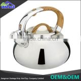 Fashion design stainless steel gas stove whistling tea kettles