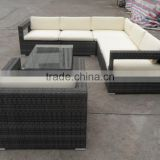 7PC Patio PE Rattan/ Wicker Sofa Sectional Furniture Set