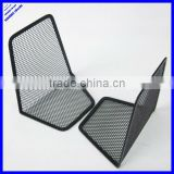 Sturdy wire black mesh metal book holder