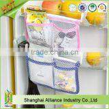 Pack of 6 Multi-functional Refrigerator Hanging Storage Mesh Bag for Kitchen Bathroom or Office Use (Z-SO-029)