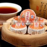 Hot selling Yunnan chrysanthemum flower puer organic detox tea mini tuo compressed puer tea