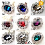 Vintage fashion ladies jewel gemstone shoe clip for bridal high heel