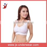 2014 hot style cotton tube bra top, Sport bra for new style wholesale,JS-8191, B/C cup, Accetp OEM