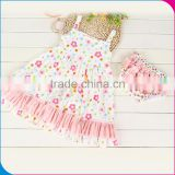 BS031701 Infant baby cute rompers new fashion baby cotton dress 100% Cotton