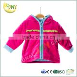 Plain warm hooded jackets and sale baby coat toddler girl coats