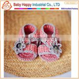 newest wholesale baby clothing crochet baby sandals