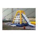Sea Playground Large Inflatable Football Game / Inflatable Soccer Field For Rental Business