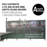 Fully-Automatic BIB Aseptic Filling System Bag In Box Aseptic Filler