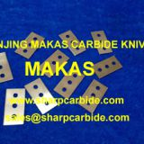 3-hole razor blades, three holes razor blades, industrial razor blades, carbide razor blades, film cutting blades