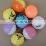two tone crystal Golf Balls