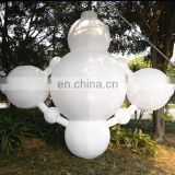 inflatable white balloon with led light inside