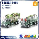 Pull back transport truck military diecast models