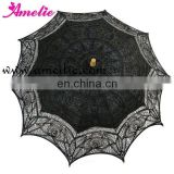 Black Gold Mixed Victorian Small Sun Beach umbrella