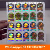 2D DOT Matrix Laser 3D Hologram Sticker