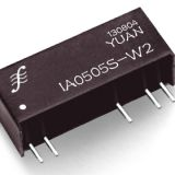 Fixed Input, Regulated Dual Output DC/DC Converter Ia1205s-1W
