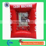 customized inflatable money booth inflatable money cash machine for sale