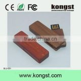OEM Wood Memory Stick USB 2.0,Customized Gift swivel Wood USB Flash Drive with laser engraving logo