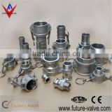 Stainless Steel Camlock Quick Coupling Cam and Groove Fitting