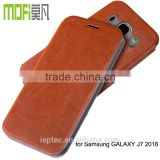 MOFi Original Leather Flip Cover Case for Samsung Galaxy J7 2016 J710F, Mobile Back Housing for Samsung J7 2016