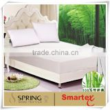 bamboo waterproof mattress protector/fitted sheet