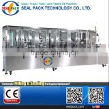 SMALL FACTORY PNEUMATIC SODA automatic liquid soap filling machine