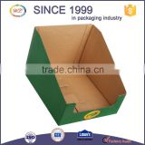 Custom Printed Folding Corrugated Carton Cardboard Paper Display Box                                                                         Quality Choice