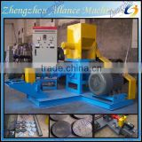 Popular in india malaysia aquafarm floating fish feed extruder machine made in china