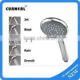 5 Functions Brass Shower Jets