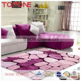 China made plain design patchwork floor rugs and carpets