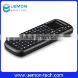 iPazzPort Google TV 2.4 G mini wireless Handheld keyboard 82 keys with touchpad+laser pen