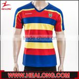 wholesale Sublimation Printing short sleeve fiji rugby jersey                                                                         Quality Choice