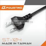 Electric extension european standard ac power cord cable