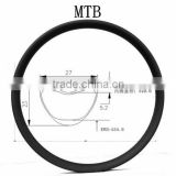 SMTB02-27.5T synergy bike 27mm*23mm carbon mtb rim 27.5er carbon fiber mountain bike rim tubular 650b mtb rim