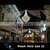 High quality waterproof LED arch motif street decoration lights outdoor Gardern Pole decor with factory price