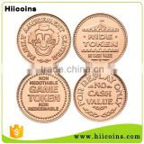 Manufacturer Wholesale Custom Metal Game Token Copy Coin                                                                         Quality Choice