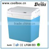 beila 25L peltier cool custom-built colored mini fridge