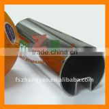 8mm 10mm 12mm thick toughened glass with slotted tube