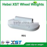coated lead adhesive wheel weights