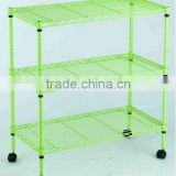 2014 Hot Selling Colorful Metal Wire Shelving of High Quality-12 Years Professional Manufacturer from China