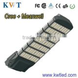 High power aluminum led street light accessories cree chip+MW driver 3 years guarranty road lamp