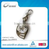 fashion trend 925 sterling silver necklace factory price rechangeable silver pendant necklace