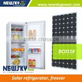 hot selling new product newsky refrigerator battery powered refrigerator solar panel refrigerator