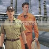 oil field working wear,gas station work clothes,fashion uniform for men,guangzhou uniform