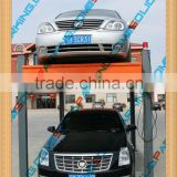 Hydraulic cylinder protection smart easy equipment four post car lift