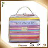 Popwide High Quality Easy Carry , large room Stripe Lunch bag, Lunch box