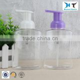 logo customized 300ml PET foam pump plastic bottle for hand soap / hand soap dispenser plastic bottle                                                                         Quality Choice