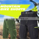 oem outdoor mens mountain bike shorts cycling shorts